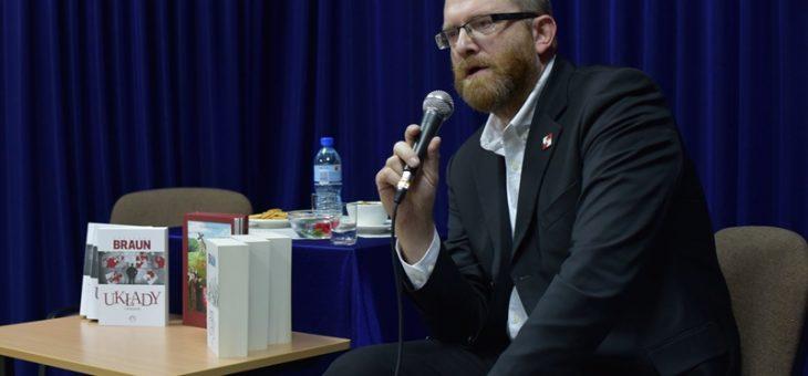 Spotkanie autorskie Grzegorza Brauna!