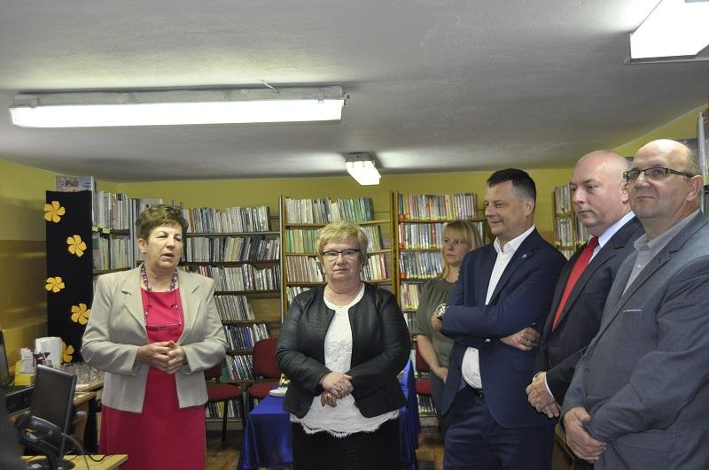 Otwarcie lokalu Filii Biblioteki Publicznej w Stryjkach