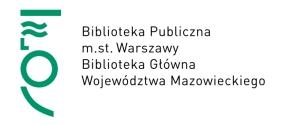 Baner - Biblioteka Publiczna m. st. Warszaway